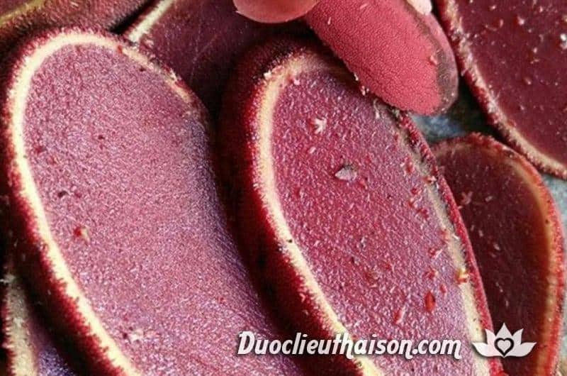 Nấm ngọc cẩu cắt lát tươi