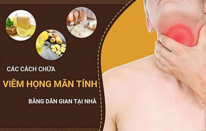 Bài thuốc dân gian chữa viêm họng hạt hiệu quả bất ngờ!