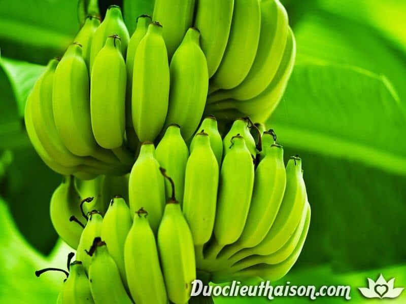 Sử dụng chuối xanh để trị mụn cóc (hạt cơm) hằng ngày mang đến tác dụng hiệu quả