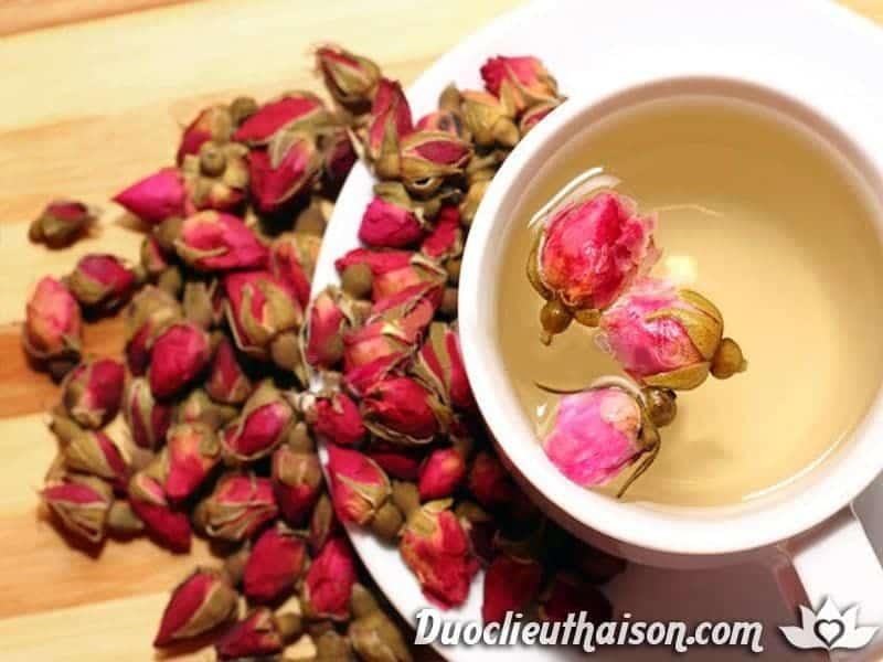 Hình ảnh trà hoa hồng