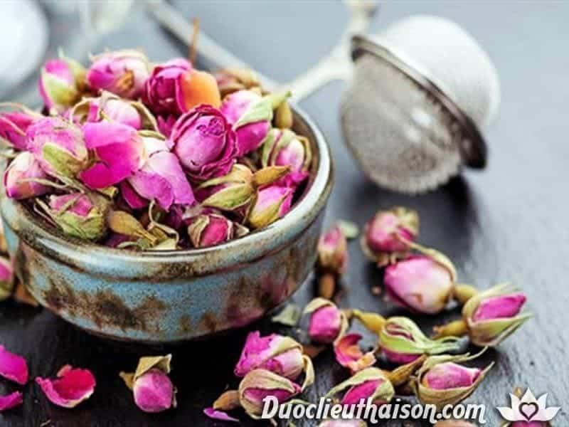 Tác dụng của trà hoa hồng