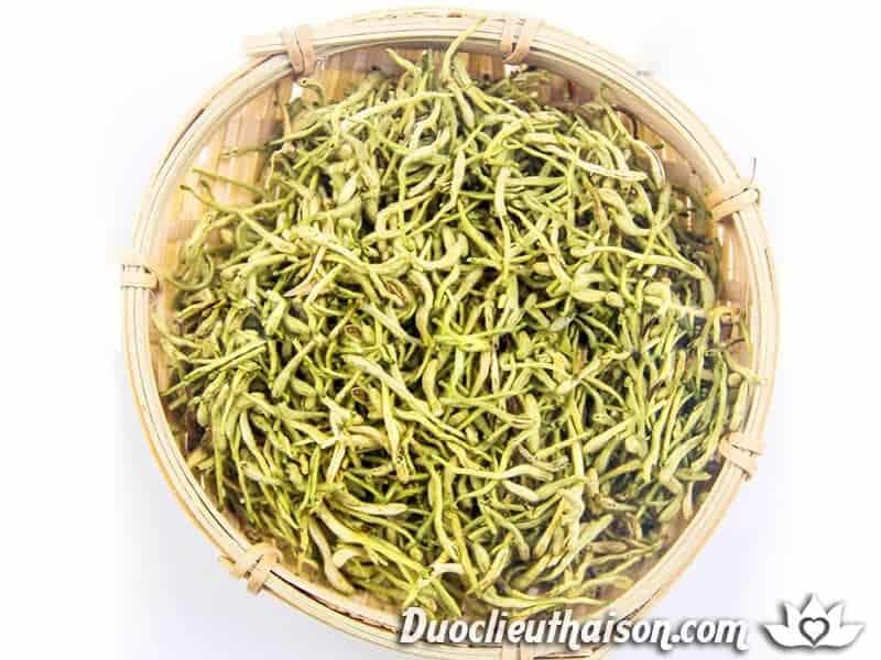 Kim ngân hoa có thể bảo quản và dùng nhiều ở dạng khô