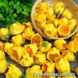 Hoa trà hoa vàng