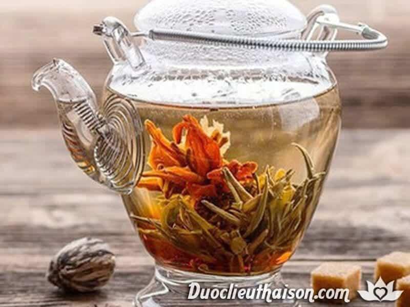 Uống trà kim ngân mang mỗi ngày đến nhiều tác dụng chữa bệnh thần kỳ