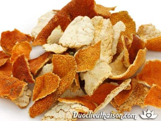 Trần bì (vỏ quýt) được xem là một loại thuốc quý trong Đông y