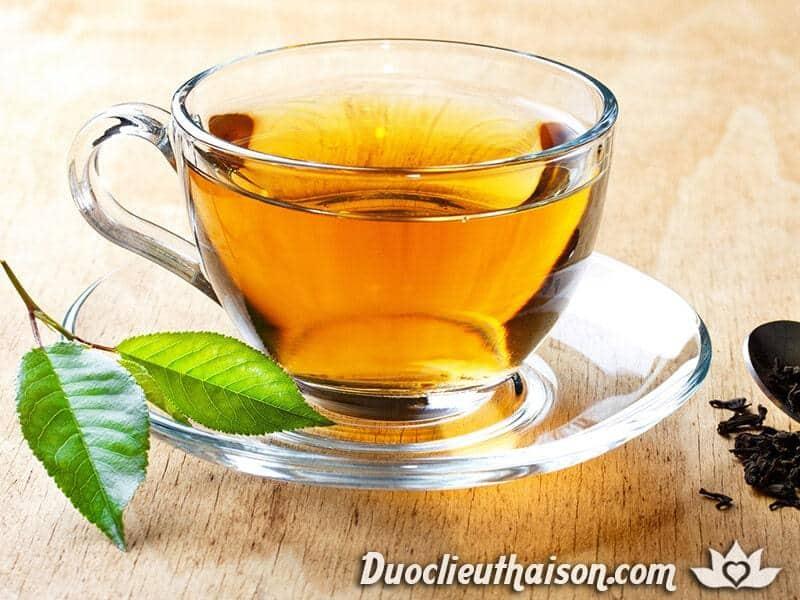 Uống trà thảo mộc tốt cho sức khỏe