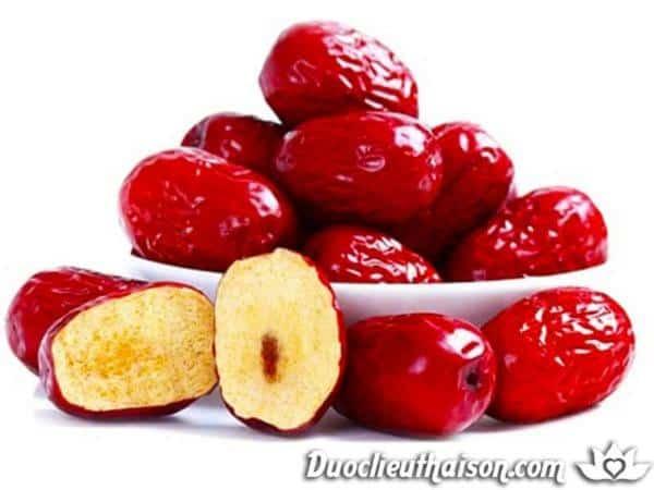 Táo đỏ chứa nhiều thành phần hóa học có lợi cho sức khỏe