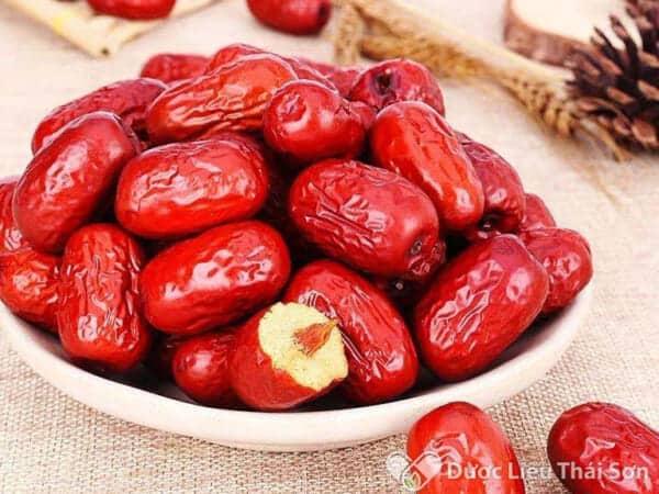 Hình ảnh sản phẩm táo đỏ của Dược liệu Thái Sơn cung cấp được khách hàng tin tưởng và sử dụng